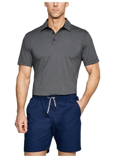 Under Armour Polo Yaka Tişört Siyah